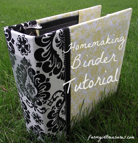 Homemaking Binder Tutorial [Part One]